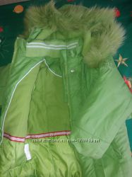 Зимняя курточка для девочки 92. KIKO