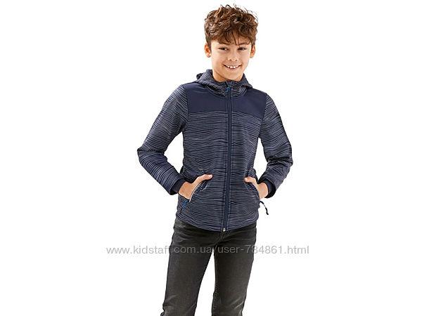 Куртка для мальчика софтшелл softshell на флисе с мембраной Crivit Германия