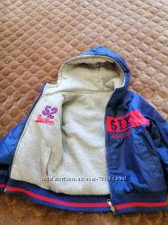 Куртка двух сторонняя осень-весна бу