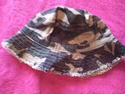 Шляпа, панама хаки, милитари Mothercare