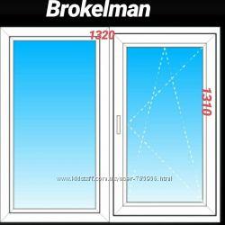 металлопластиковые  окна из ПВХ-профиля