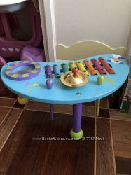 Интерактивный барабан и деревянный ксилофон
