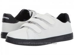 Tretorn оригинал кожаные белые кедына липучках бренд из сша