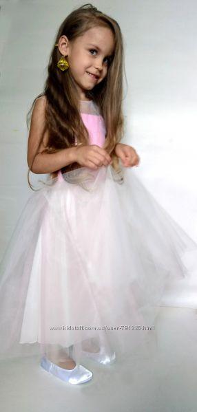 40. нарядное  платье для девочки от 5 лет, рост 110 см