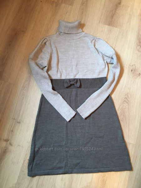 Тёплое платье S