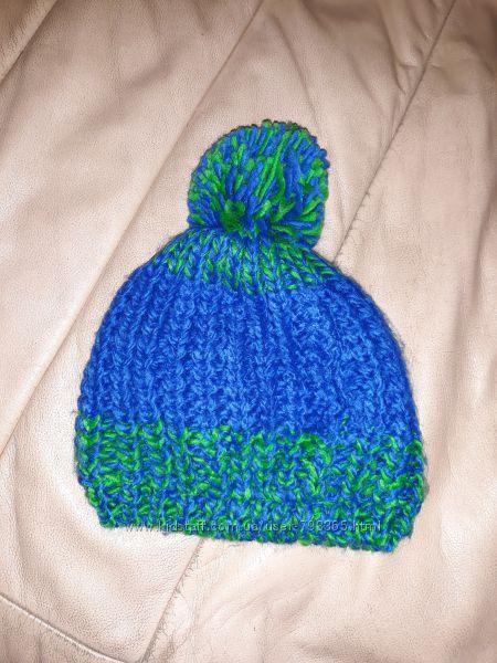 теплая зимняя шапка малышу Германия