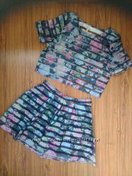 юбка и топ