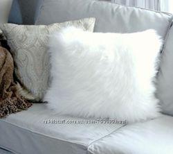 Новая Меховая подушка