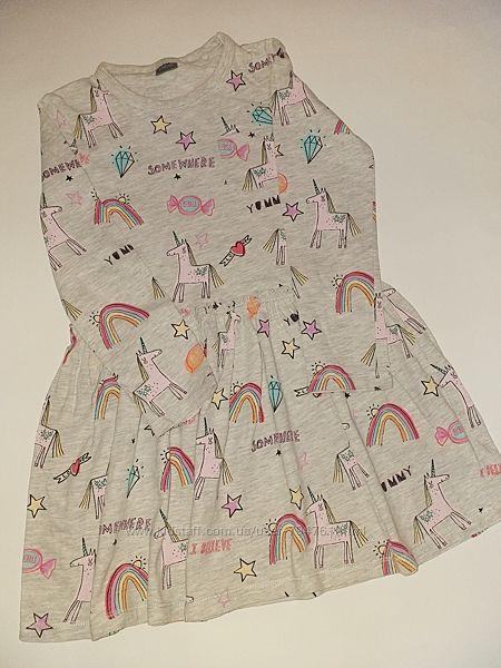 Красивая туника платье Next 4-5 лет