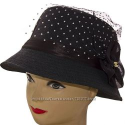 Элегантная шляпа, цвета разные