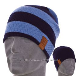двухсторонняя шапка-чулок unisex в разных цветах и размере 54-60