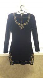 Бондажное платье с камнями Nice Istanbul