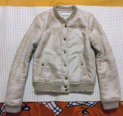 Стильная короткая дублёнка куртка Mango размер s