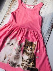 Яркие, легкие, качественные летние платья марки H&M