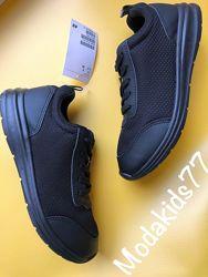 Модные кроссовки, слипоны для подростков марки H&M, Адидас, Бершка