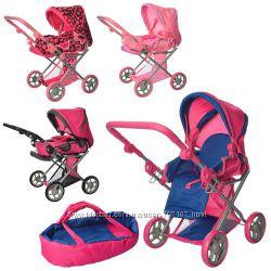 коляска для куклы melogo 9346