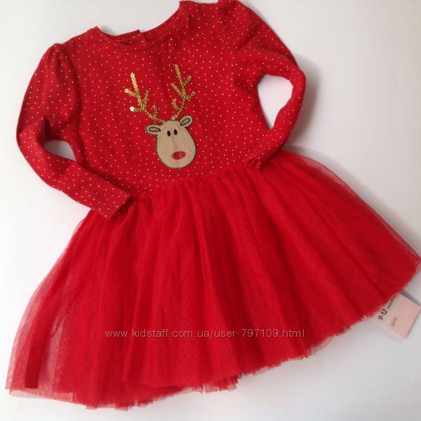 нарядное платье с оленем
