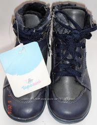 Демисезонные ботинки TOPOLINO Размер 28 стелька 18см Новые