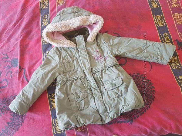 Куртка на малышку