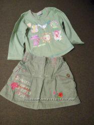 Стильная юбочка NEXT для маленькой модницы