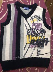 Красивейшая жилетка джемпер свитер реглан дл. 43 см Новая