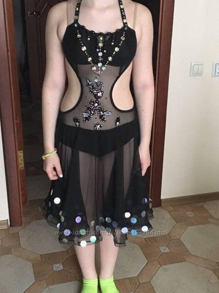 Платье для танцев на рост 160 170 см латина