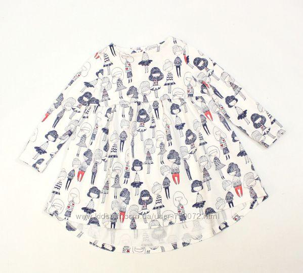 Платье с девочками miniclub, 9-12 мес.