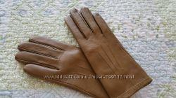 Шикарные перчатки кожа