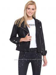 Куртка косуха женская кожаная новая WAIKIKI Турция S M L XL XXL 46 48 50 52