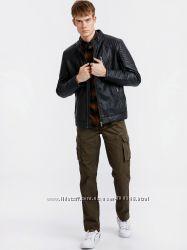 Куртка мужская, демисезонная кожаная, новая, S, М, L, XL, XXL, 46-50, 52, 5