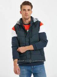 Жилетка, куртка, безрукавка новая мужская, Турция, размер S, M, L, 44, 46,