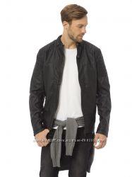 Куртка мужская, демисезонная кожаная, новая, Турция, S, M, 44, 46, 48