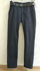 Школьные утеплённые брюки для мальчика 11-13 лет. Пр-во Турция.