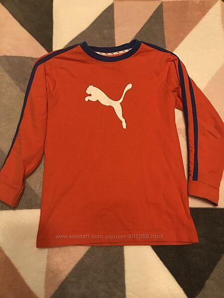 Puma кофточка на 5-6 лет