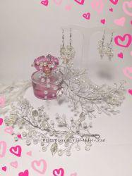 Красивые украшения для невест и выпускниц.