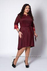 Платье Валери в большом размере код 8379