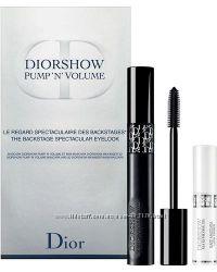Подарочные наборы Диор с тушью Diorshow, Iconic Overcurl и базой Maximizer