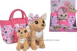 Собачка с сумочкой Chi Chi Love Счастливая семья 5893213