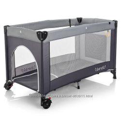 манеж-кровать&nbspBambi M 3696 на колесиках с кольцами