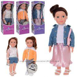 Кукла интерактивная высокая LIMO TOY M 3955-56-58 UA
