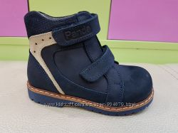 Кожаные ортопедические ботиночки Panda 01. 2005
