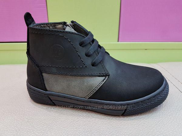 Кожаные демисезонные ботинки K. Pafi 036. 02
