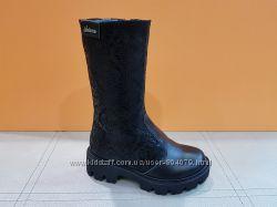 Зимние кожаные сапожки Masheros 274-1. 1