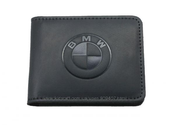 Кожаный кошелек BMW