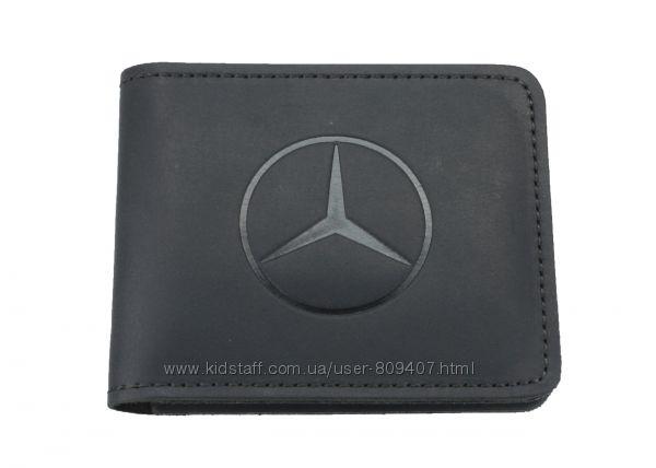 Кожаный кошелек Mercedes