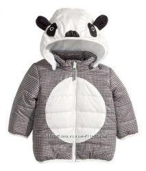 курточка панда на малыша от h&m