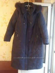 Срочно пальто куртка пуховик 54размер