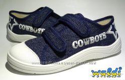 Кеды от ТМ Waldi для мальчиков. Cowboys.