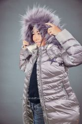 Удлиненная дутая куртка от 3 до 16 лет