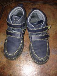 Ботинки фирмы bistfor kids, р. 32, стелька 20 см. , синего цвета, в хор. мост